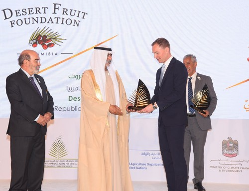 Desert Fruit Namibia scoops sought after UAE Khalifa Award