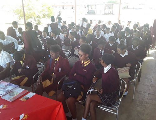 Karasberg Schools visit to University of Namibia Keetmanshoop Campus