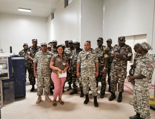 Desert Fruit Namibia assists in equipping NDF with leadership skills